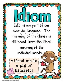 Idioms, A Little Monkey Business