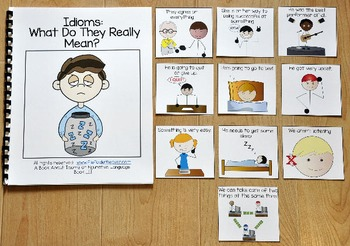 Idioms Activities:  Idioms Adapted Book 3