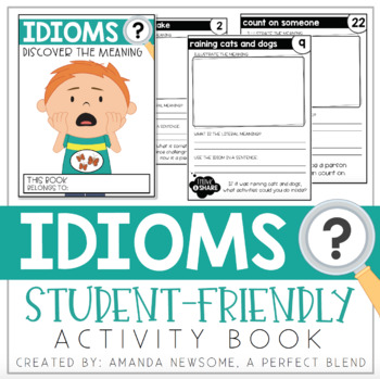 Year-Long Idioms Activity Book