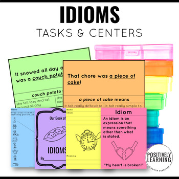 Idioms Activity Pack and Printables