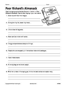 Idioms, Adages and Proverbs (CCSS L.4.5b)
