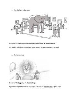Idioms - Animals Edition