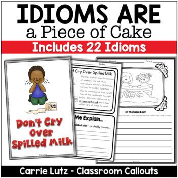 Idioms Figurative Language Activities