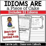 Idioms Worksheets Figurative Language Activities