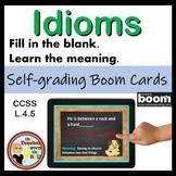 Idioms BOOM Cards