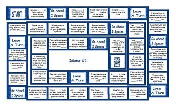 Idioms Board Game 1