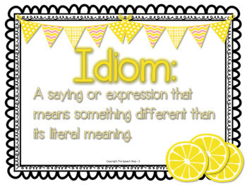 Idioms Game with Task Cards