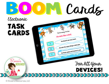 Idioms Boom Cards - Free