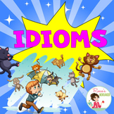 Idioms Boom Cards - Free - Distance Learning