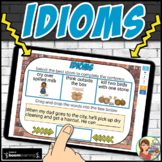 Idioms Boom Cards Distance Learning