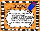 Idioms- Bulletin Board, Project, or Class Book