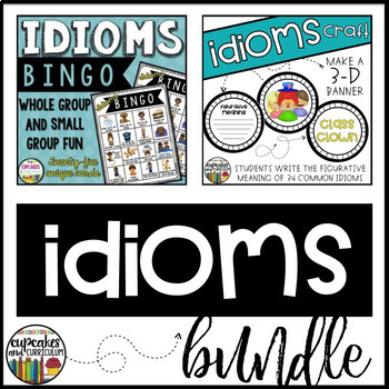 Idioms Game and Craft