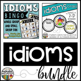Idioms Game and Craft Bundle