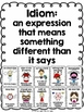 Idioms Bundle of Posters, 2 Games, and 24 Task Cards for g
