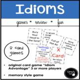 "Idioms Card Game  ""Idiom Advantage"""