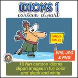 Idioms Cartoon Clipart