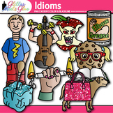 Idiom Clip Art {Figurative Language Use for Bad Apple, Sma
