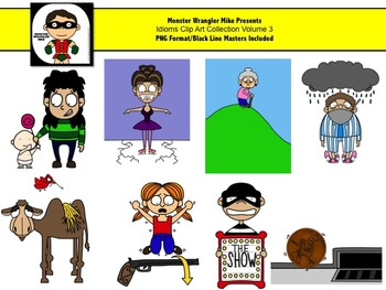 Idioms Clip Art Collection Volume 3