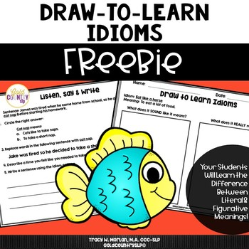 Draw to Learn Idioms