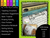 Figurative Language -Idioms Interactive Notebook, Drawing,
