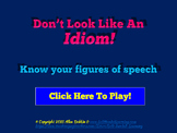 Idioms, Expressions and Figures of Speech Jeopardy-Style Powerpoint Game SAMPLE