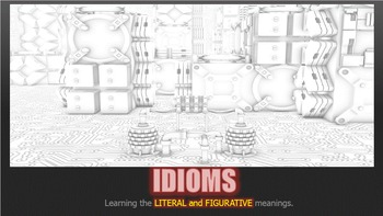 FIGURATIVE LANGUAGE (IDIOMS) - Interactive PowerPoint