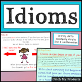 Figurative Language Lesson on Idioms PowerPoint