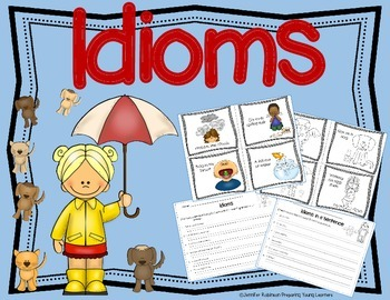 Idioms {Figurative Language} Task Cards/Centers