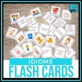 Idioms Flash Cards