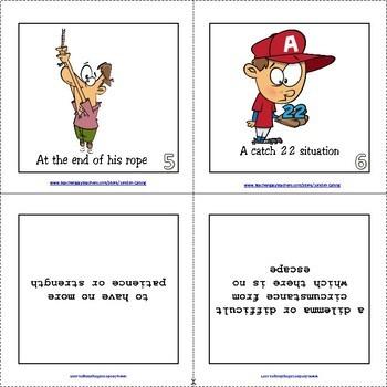Idioms - Flash Cards