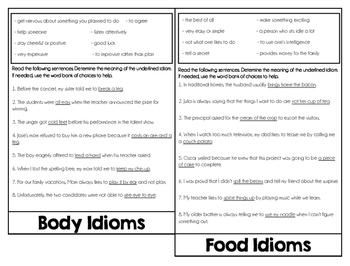 Idioms Flipbook
