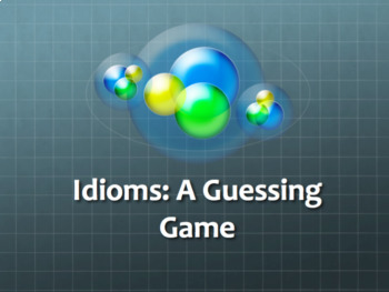 Idioms Guessing Game