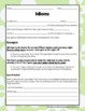 Idioms: Guided Notes, Practice Activity, and Lesson Ideas