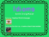 Idioms: Guided practice and independent work
