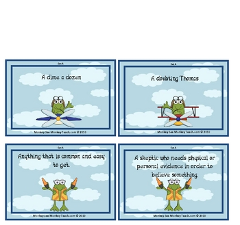 """Idioms  """"High Flying Idioms"""""""