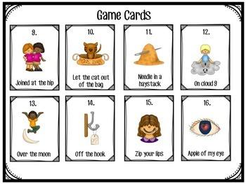 Idioms:  I'm Game