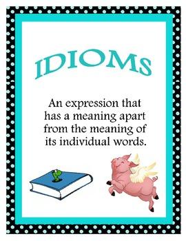Idioms! Idioms! Idioms!