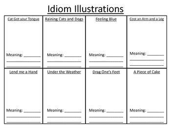 Idioms Illustrations
