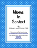 Idioms In Context
