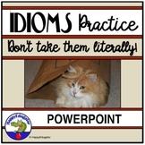 Idioms PowerPoint Interactive Quiz