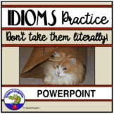 Idioms PowerPoint Interactive Quiz Distance Learning