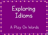 Idioms Interactive Whiteboard Activity