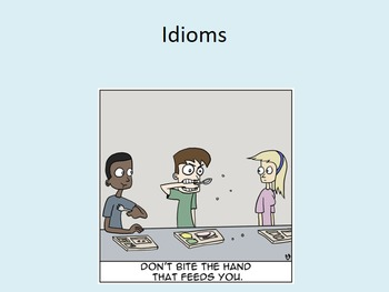 Idioms Lesson with Assignment and Project