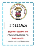 Idioms Letter Size