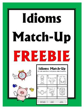 Idioms Match-Up FREEBIE