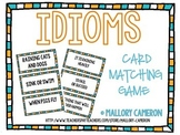 Idioms Matching Card Game
