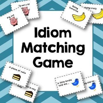 Idioms Memory Matching Game
