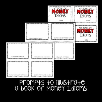 Idioms: Money Idioms Prompt Cards