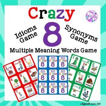 Vocabulary Card Games