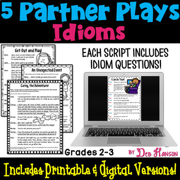 Idioms Partner Plays